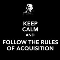 The Ferengi Rules of acqusition